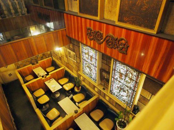 純喫茶ヒスイの2階からの眺め