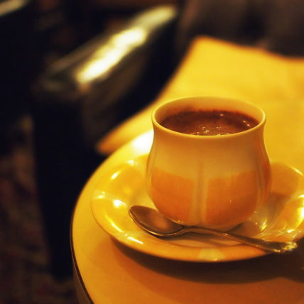 純喫茶ローレンスのお子様ココア