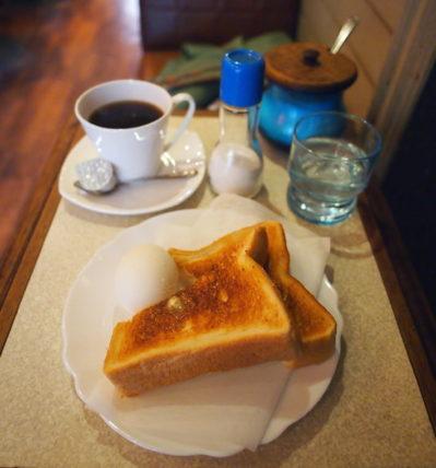 大和高田・喫茶グランプリのモーニング