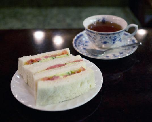 喫茶古城のモーニング