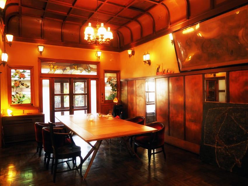 島原・きんせ旅館の内装全景