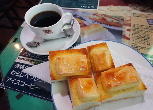 わらしべのチーズトースト