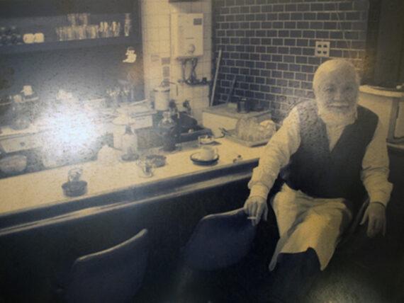 住吉・喫茶タンポポのマスター