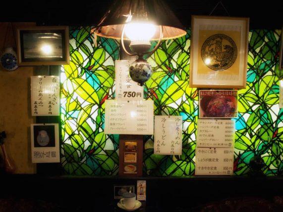 金沢・禁煙室のステンドグラス