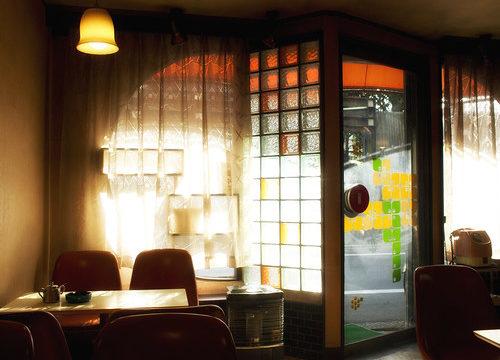 喫茶タンポポ店内