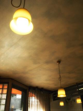 住吉・喫茶タンポポの天井