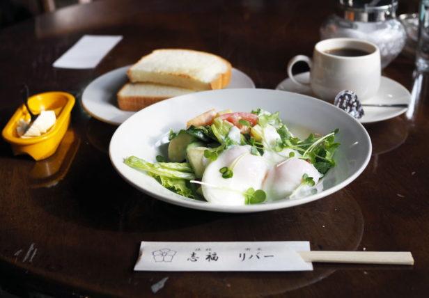 門司港・喫茶リバー_モーニング