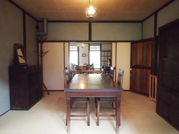 新島旧邸・食堂