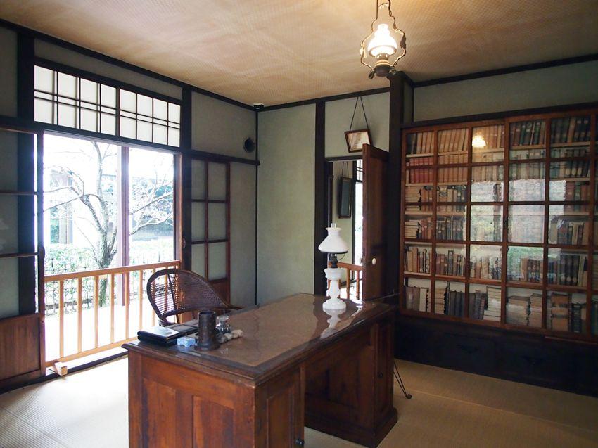 新島旧邸・書斎