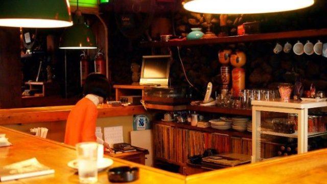 ジャズ喫茶マリモ店内