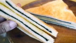 京都・喫茶ウズラ_のりトースト