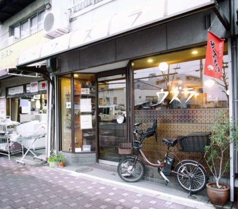 京都・喫茶ウズラ_外観