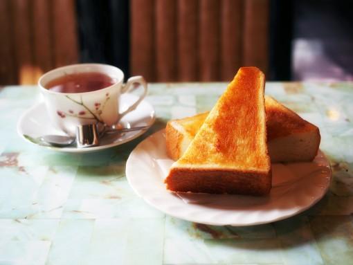 純喫茶フルールのモーニング