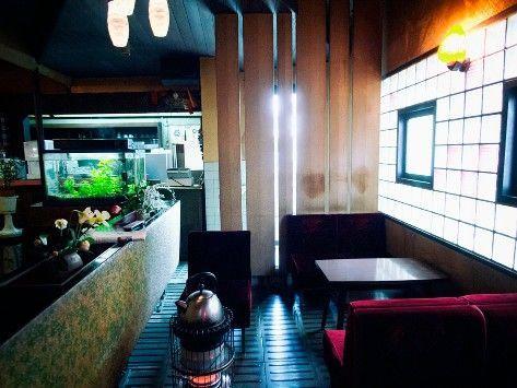 喫茶マンボの店内