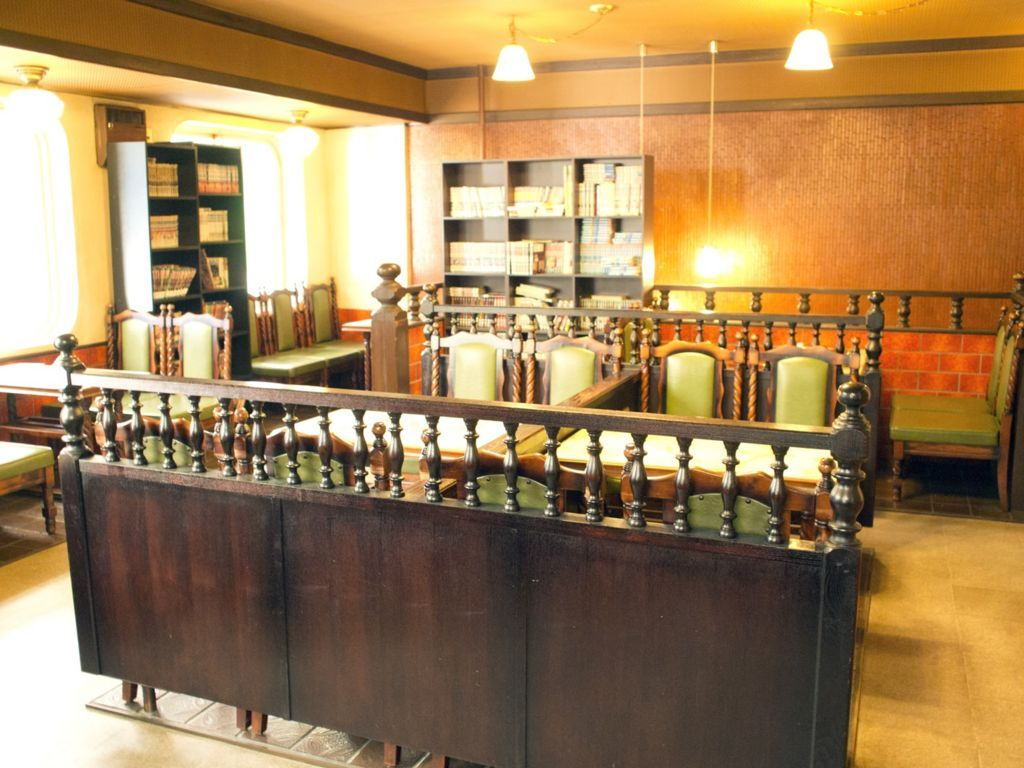 喫茶マリンナ二階