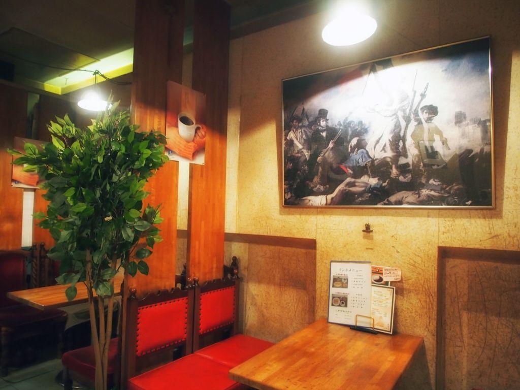 鳥取・チャップリン店内