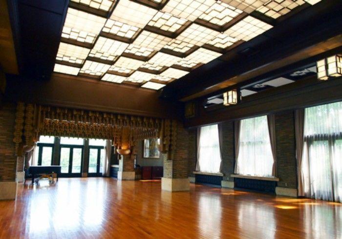 甲子園会館西ホール全体図