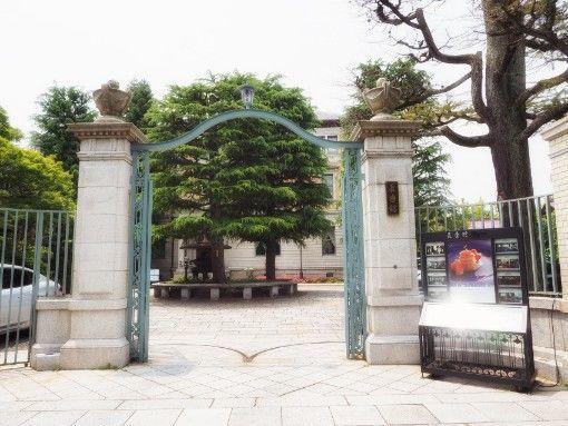 長楽館玄関