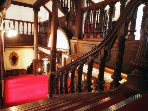 長楽館・階段