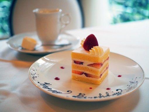 長楽館・ケーキ