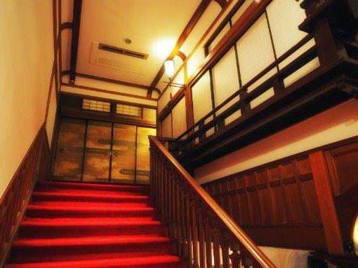 長楽館・御成の間への階段