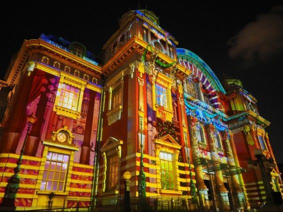 大阪市中央公会堂・ウォールタペストリー1