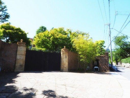 神戸・旧乾邸の正門