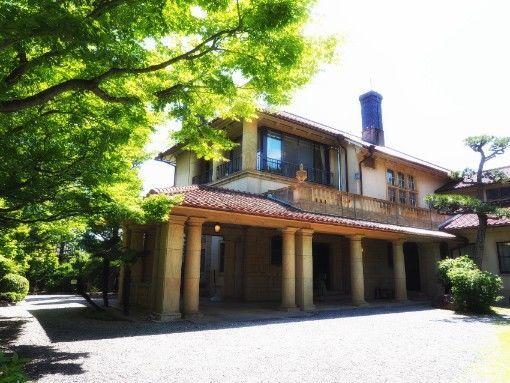 神戸・旧乾邸の玄関全体図