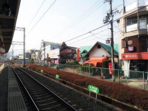 長岡天神駅から見える純喫茶フルール
