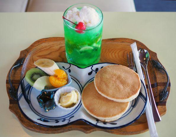 児島・サンレモン_ホットケーキ1