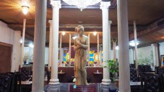 王朝喫茶観山のヴィーナス像