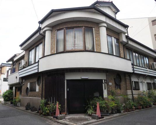五条楽園のカフェー建築