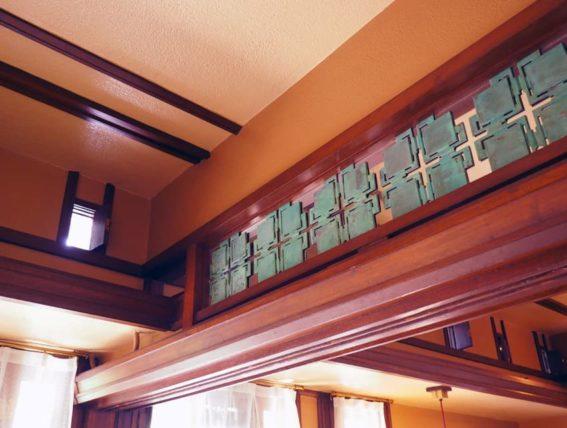 ヨドコウ迎賓館・和室の欄間