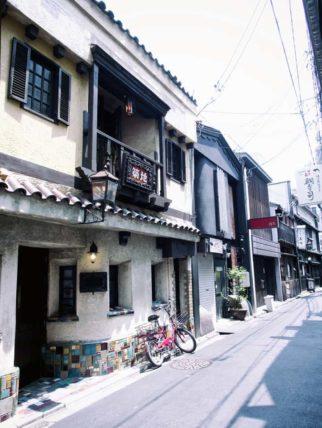 京都・築地の外観