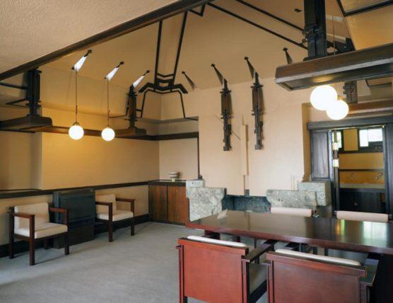 ヨドコウ迎賓館・食堂