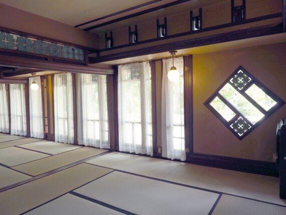 ヨドコウ迎賓館・和室の窓