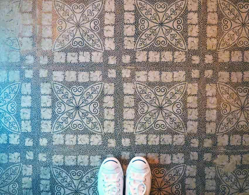 喫茶ココの床