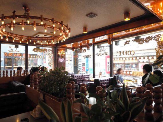 COFFEE SHOPギャランの店内