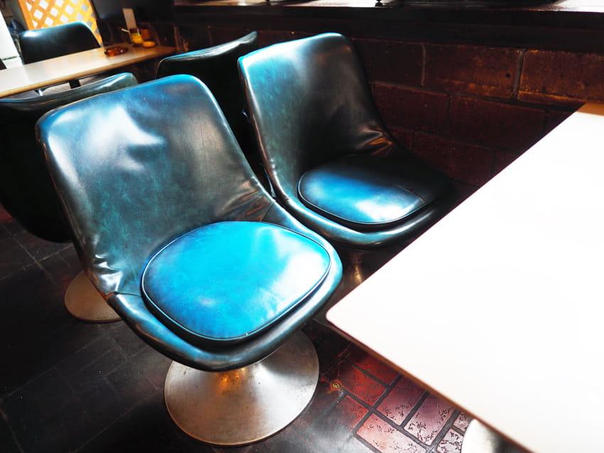 喫茶アスナロの椅子