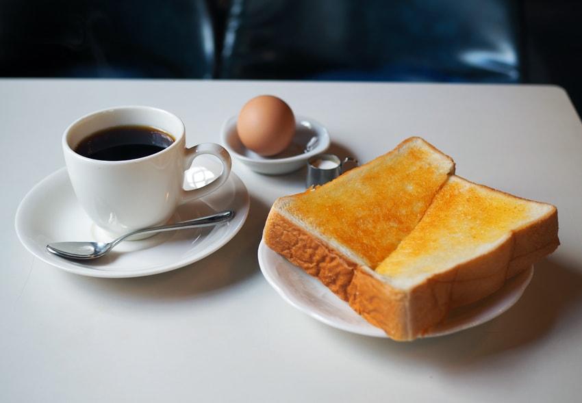 喫茶アスナロのモーニング