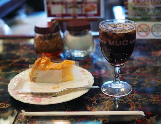 MUC逆瀬川店のケーキセット