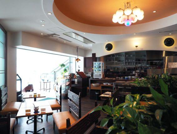 喫茶博物館珈琲ポエムの店内全体図