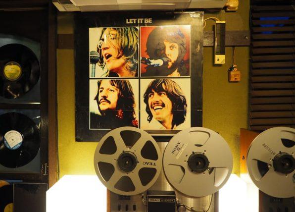 オープンリールとビートルズのレコード