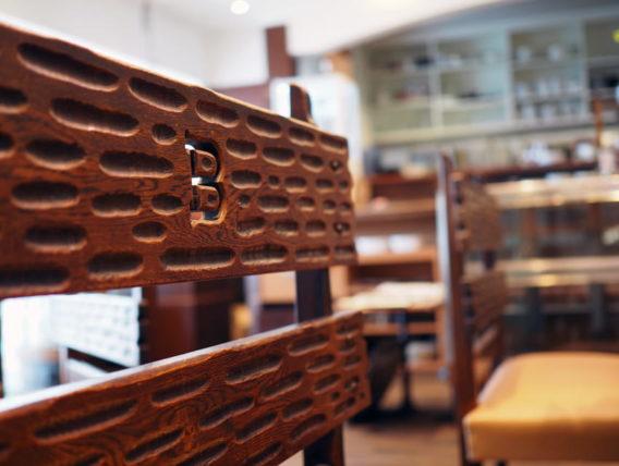 喫茶博物館珈琲ポエムの椅子