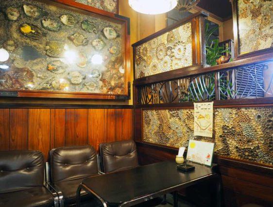 純喫茶磯の座席