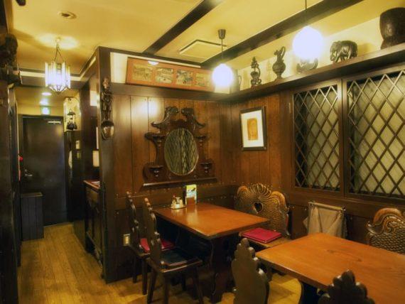 神戸・欧風料理もんの2階客席横写真