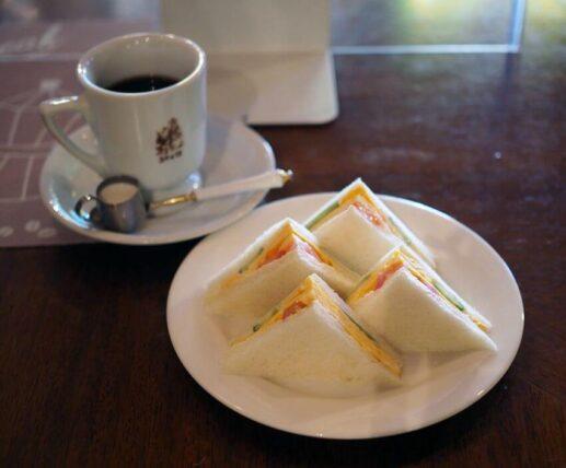 喫茶ジャワ・サンドイッチモーニング