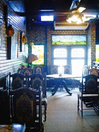 純喫茶ジャワの店内2階