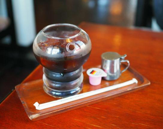 アンデスのアイスコーヒーグラス