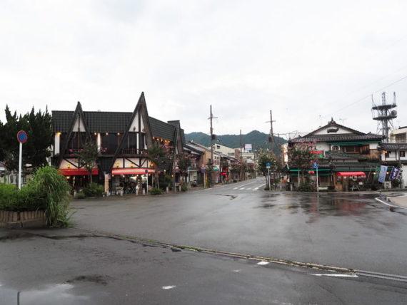 宮津駅前の喫茶サイホンと富田屋